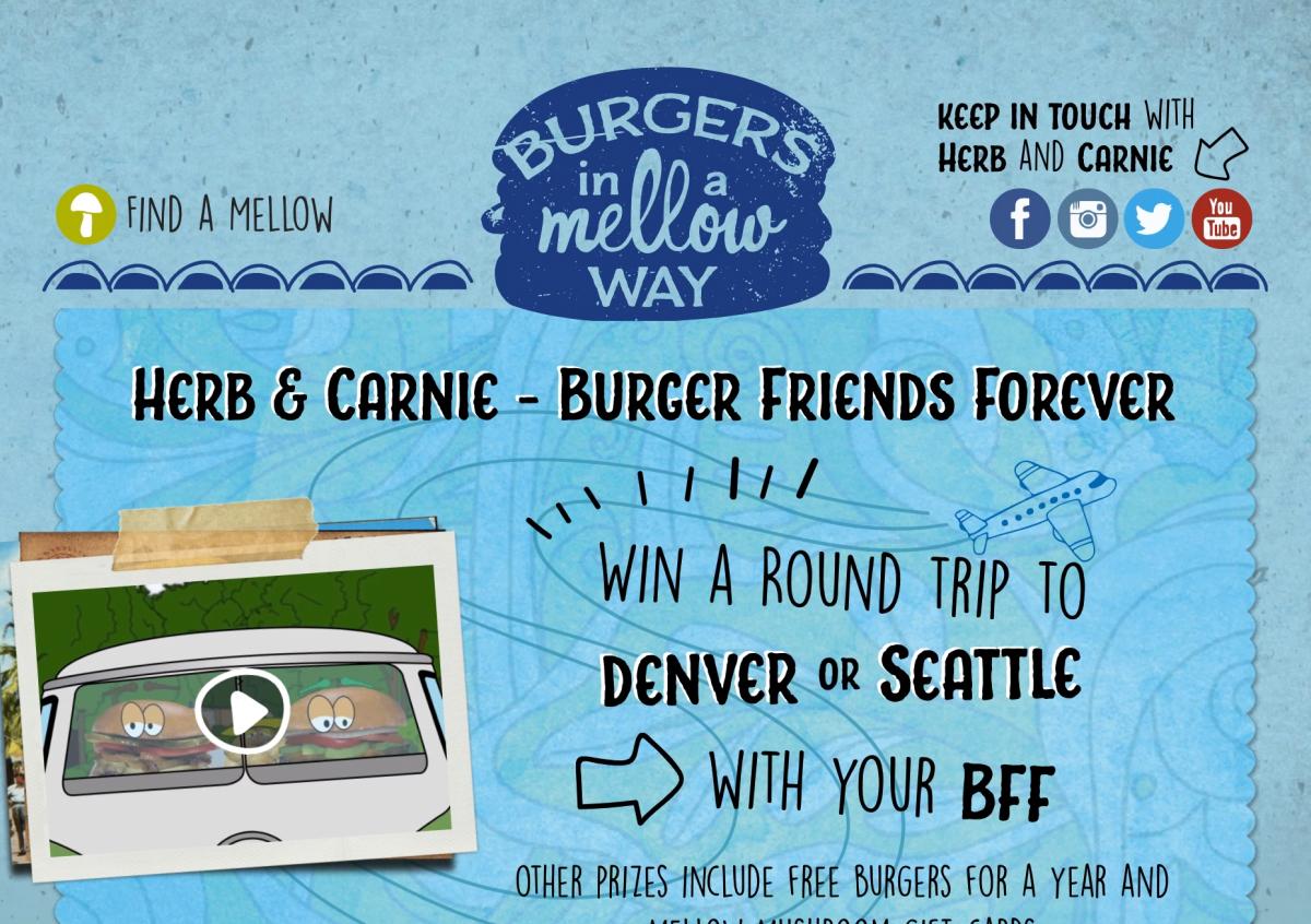 Burger BFF Landing Page
