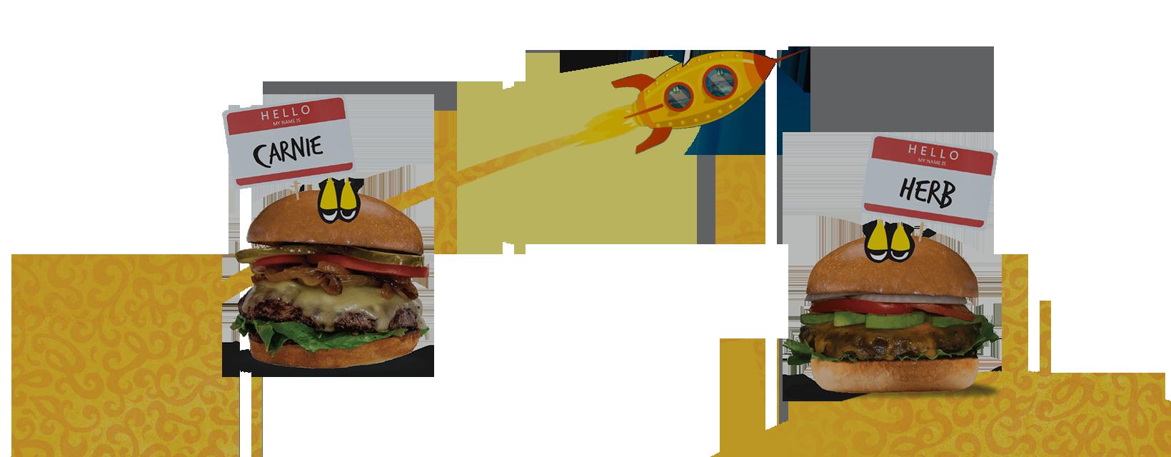 Mellow Mushroom Burger BFF